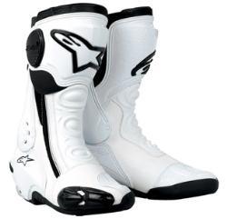 Stivali moto Alpinestars SMX Plus bianchi