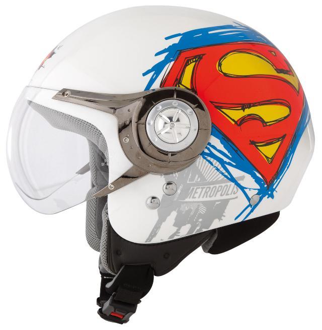 moto e moto caschi axo axo axo glory wb superman white wb. Black Bedroom Furniture Sets. Home Design Ideas