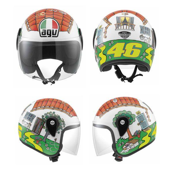 Casco-Moto-Bimbo-Agv-Junior-Open-Top-Valentino-Rossi-House-Jet-Bambino