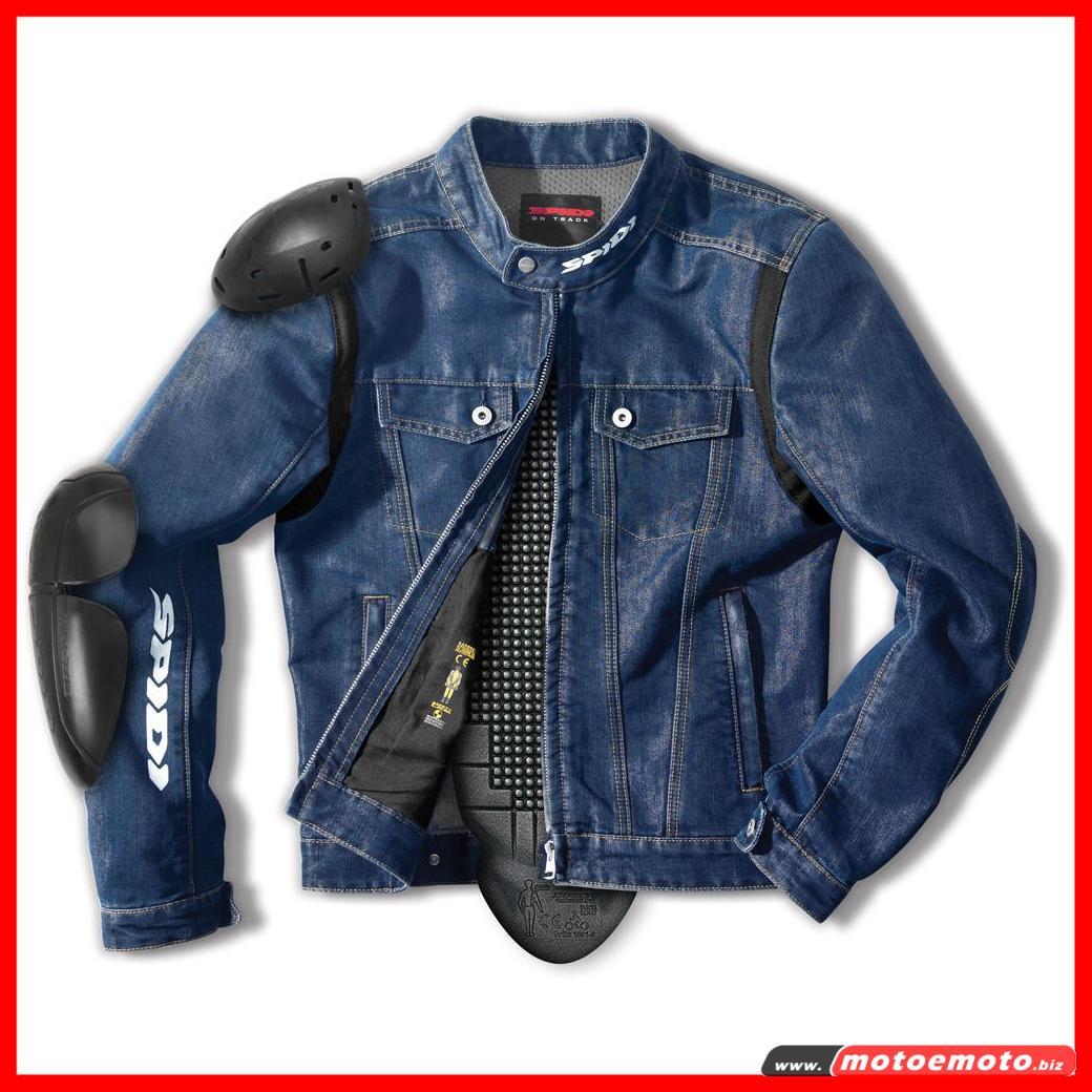 motorcycle jacket spidi furious jacket denim jeans. Black Bedroom Furniture Sets. Home Design Ideas