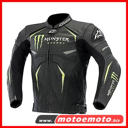 Monster energy leather jacket