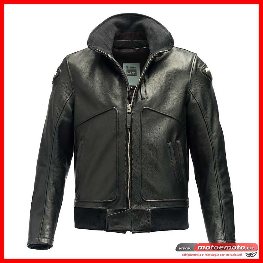 buy popular 38b97 adbae MOTO E MOTO | Abbigliamento » Giacche Pelle » Blauer ...